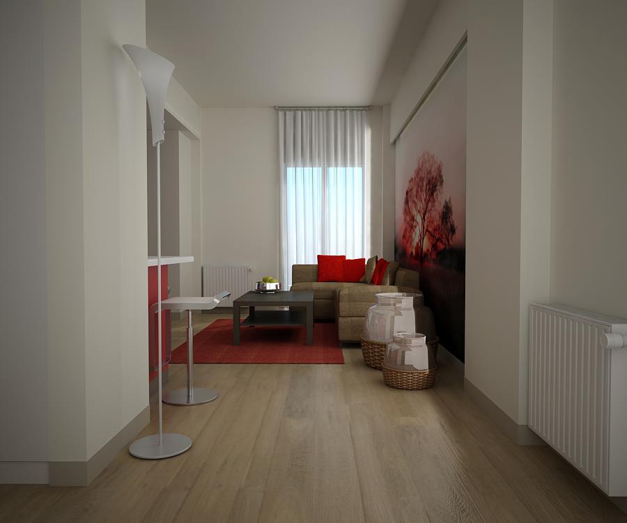 Ανακαίνιση Διαμερίσματος Airbnb στην Ιπποκράτους - OPUS