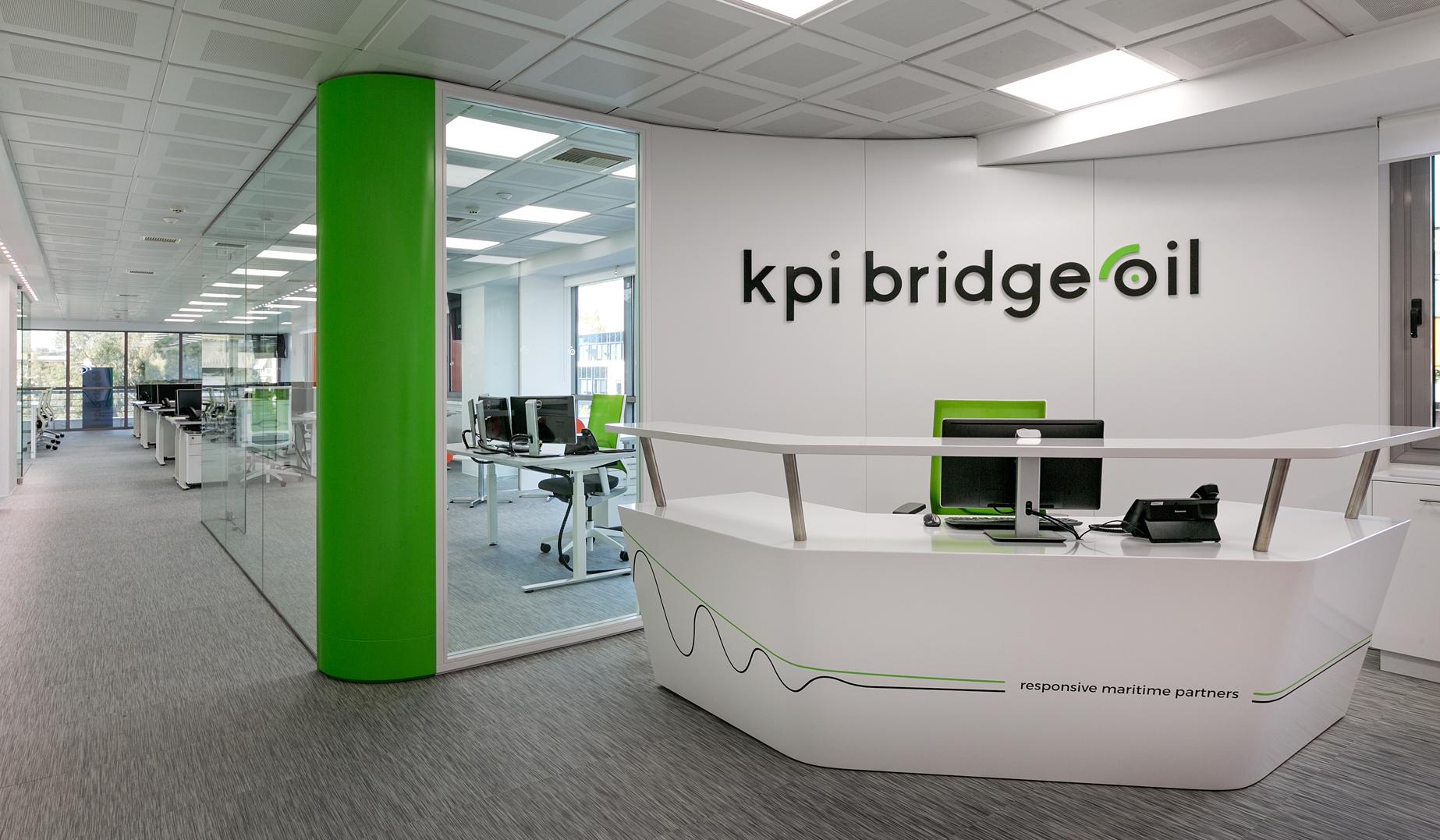 Ανακαίνιση γραφείου Kpi Bridge oil από την OPUS