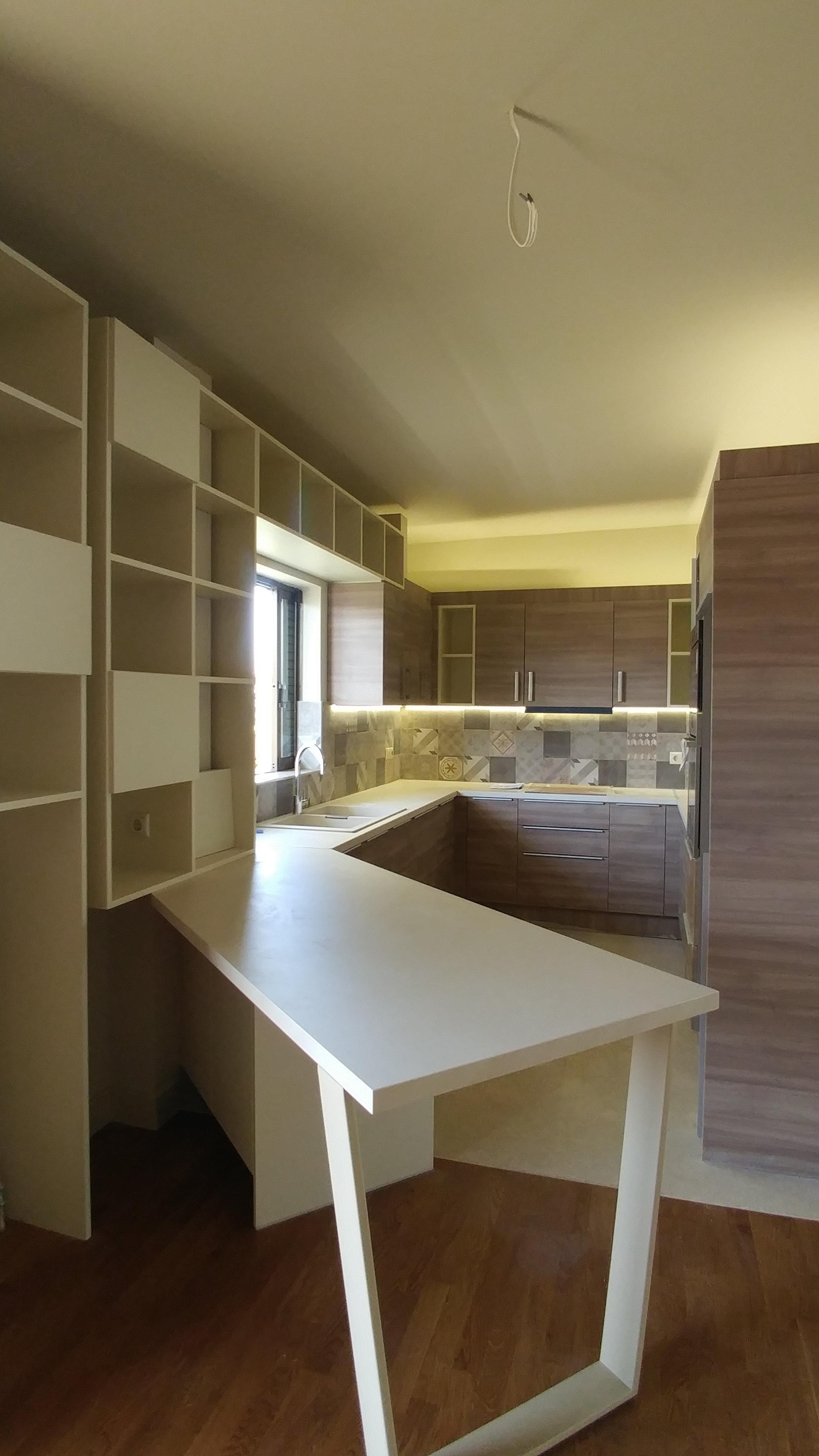 Ανακαίνιση κουζίνας Φιλοθέη | OPUS