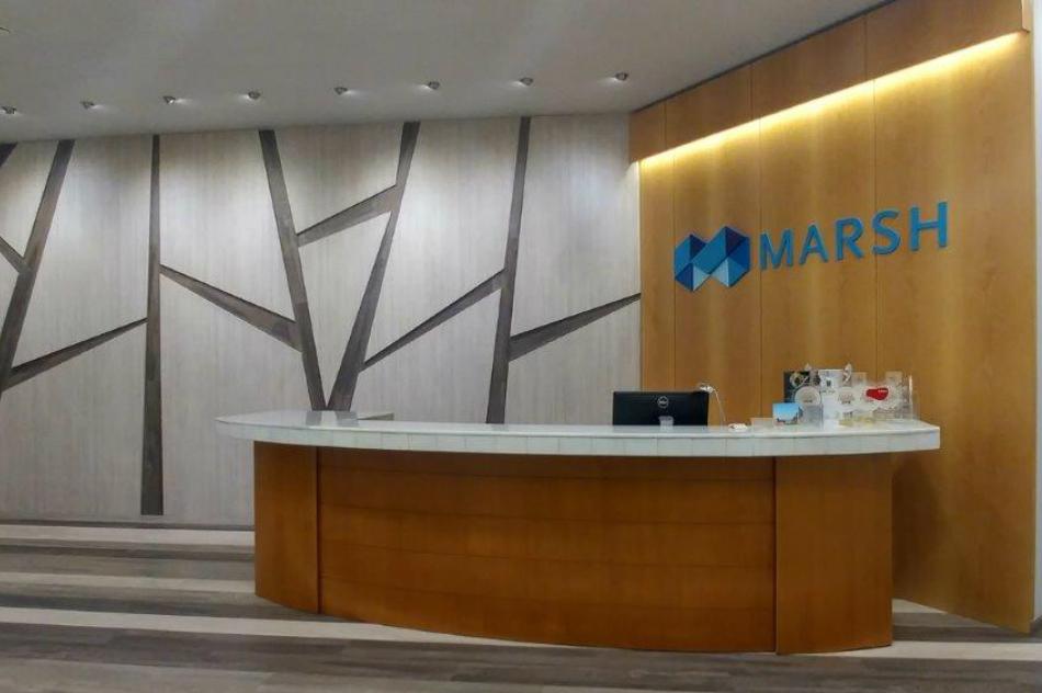 Ανακαίνιση επαγγελματικού χώρου Marsh από την OPUS